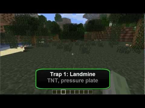 Minecraft Traps #1 - Landmine