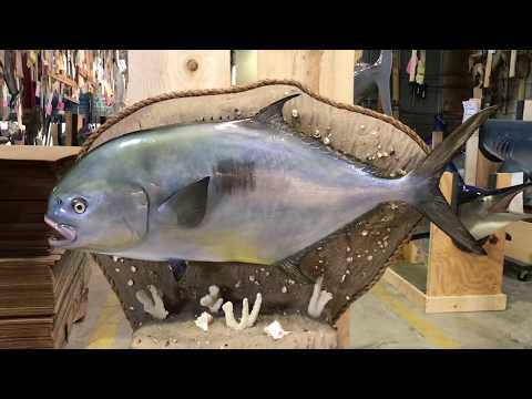 Permit form Gray Fishmounts, Custom fish reproductions