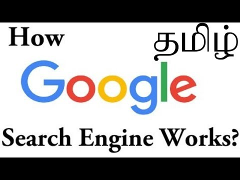 HOW GOOGLE SEARCH ENGINE WORKS TAMIL