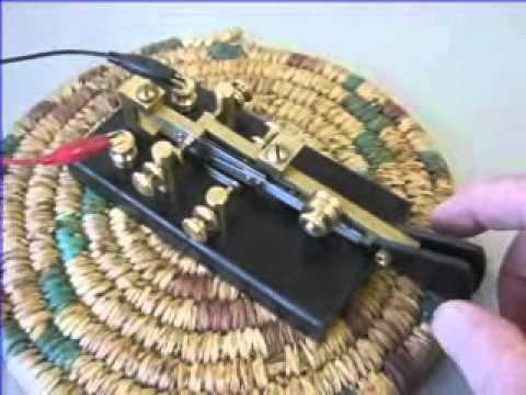 Tinsley semi auto bug Morse key by G3YUH