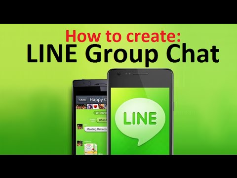 How to Create GROUP CHAT on LINE App for Android Phones