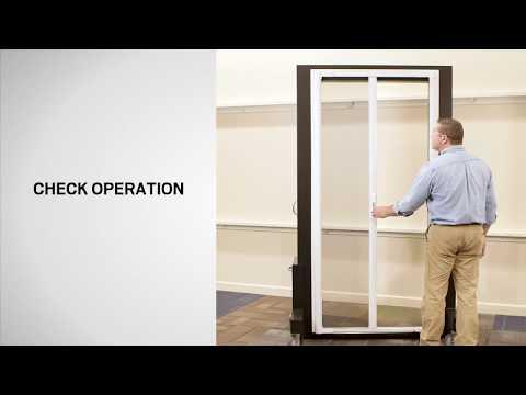 How to Replace Latch Striker for Andersen LuminAire™ Retractable Screen Door