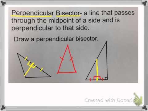 Special Segments in Triangles
