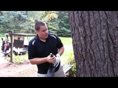 Perfect Golf Swing: How to Open a Bottle of Wine with a Tree