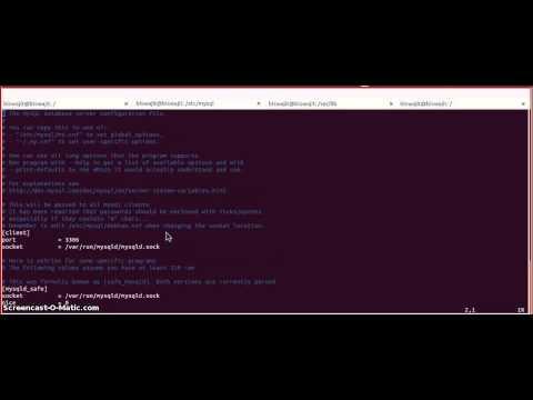 How to Change MYSQL Data Directory