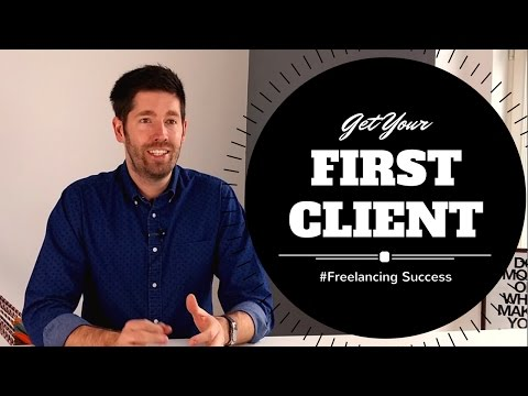 How To Get Your First Freelancing Client (3 Ways!)