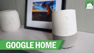 HANDS-ON: Google Home