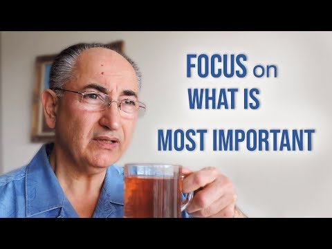 Focus On What Is Most Important!  Q & A Live Talk # 155