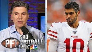 Is Jimmy Garoppolo's ugly preseason debut concerning? | Pro Football Talk | NBC Sports