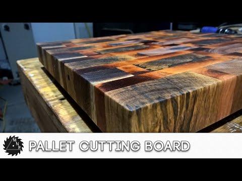 Pallet End Grain Cutting Board - Pallet Challenge 2016