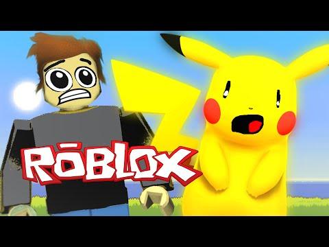 Roblox Adventures / Pokemon GO in Roblox / STOLEN PIKACHU!?