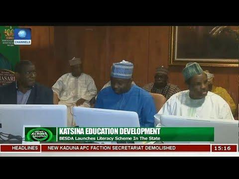 BEDSA Launches Literacy Scheme In Katsina | News Across Nigeria |