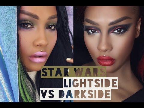COVERGIRL STAR WARS LIGHTSIDE VS DARKSIDE TUTORIAL