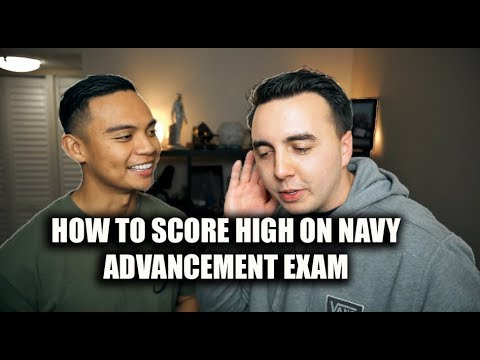HOW TO SCORE HIGH ON NAVY ADVANCEMENT TEST TO MAKE RANK QUICK?!