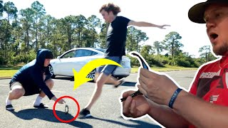 Broken Sunglasses Prank!