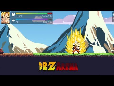 DBZArena - Fan Made Dragonball Z Side Scrolling RPG
