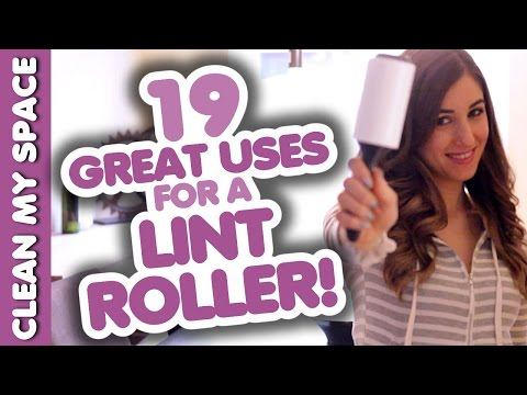 19 Awesome Uses for a Lint Roller! (Clean My Space)