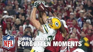 """Top 10 Greatest """"Forgotten"""" Moments in NFL History 