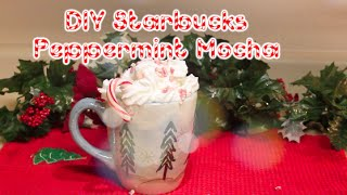 Open for a peppermint mocha :)    Peppermint Mochas are my favorite holiday drink! What