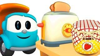 Cartoons für Kinder - #Leo Junior baut einen Toaster - Und Skoop bringt Marmelade