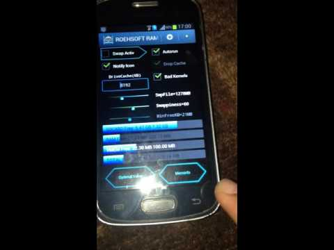 how to expand RAM in samsung galaxy star pro