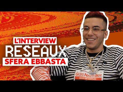 Sfera Ebbasta Interview réseaux : Sch tu stream ? Gomorra tu binges ? Bella Hadid tu match ?