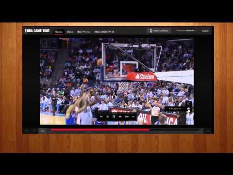 Screencast NBA League Pass