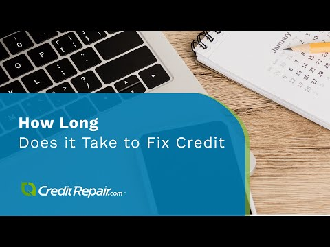 Why does it take so long to fix credit? #CreditAcrossAmerica