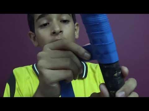 Badminton Racket Grip Wrapping - Badminton Basics