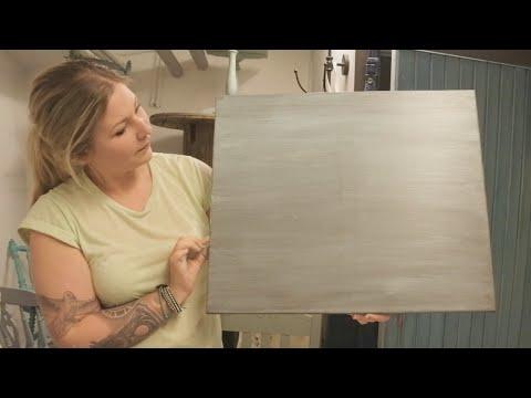 Chalk- & milk paint: Hur du gör en WASH - How to make a WASH