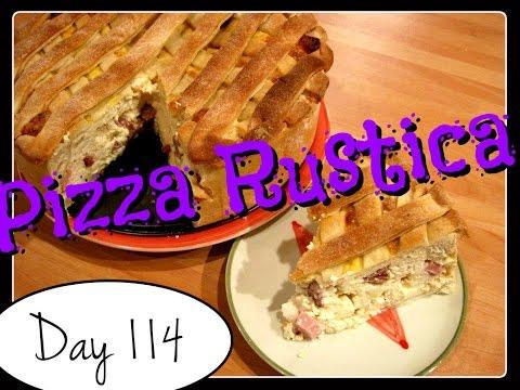 Pizza Rustica Recipe [Food Challenge: DAY 114]