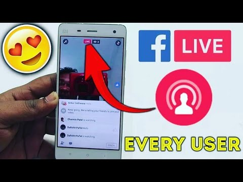 How To Go live On Facebook Profile - Every User !