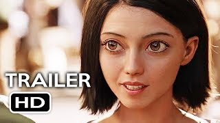 Alita: Battle Angel Official Trailer #1 (2018) James Cameron Sci-Fi Action Movie HD