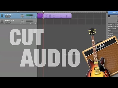 How to Cut Audio on GarageBand