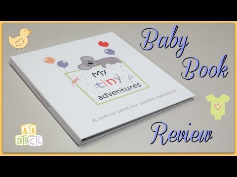 Tiny Gifts Baby Book - Review + Promo Code!
