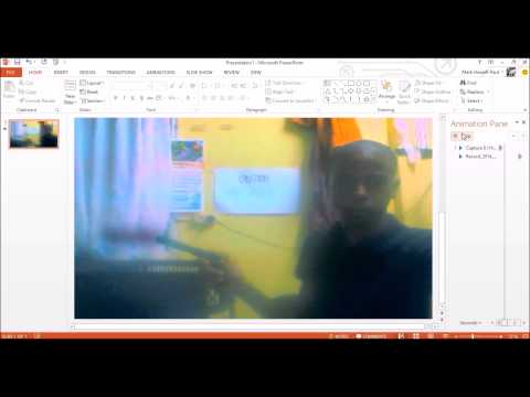 How to achieve the gunshot effect in PowerPoint & movie maker | Special And Visual Effects