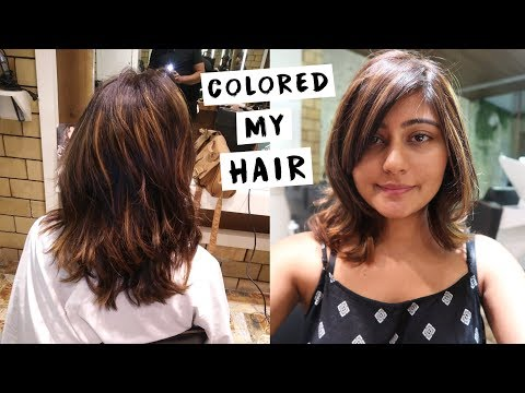 HAIR COLOR TRANSFORMATION - Getting a Balayage | Kritika Goel