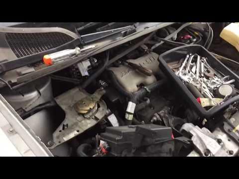 2004 Oldsmobile Silhouette Alternator Removal
