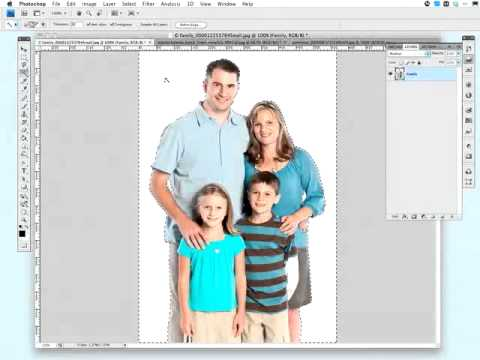 Photoshop: Removing the Background From a Flattened Image