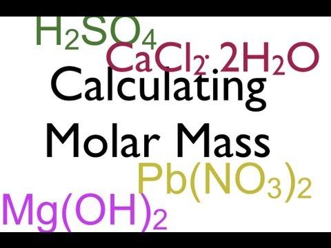 Molar Mass Calculations