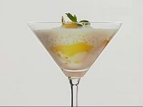 Mango & Sabudana Pudding - Nikhil Rastogi - Rasm-e-Rasoi