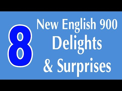 Learning English Speaking Course - New English Lesson 8 - Delights and Surprises