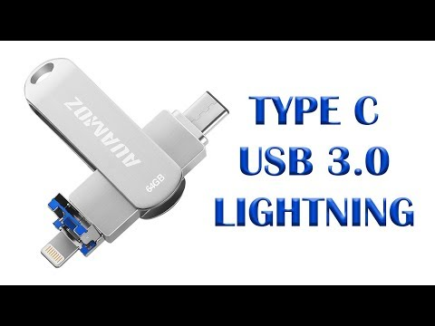 Type C USB and Lightning 64gb Memory adapter