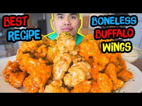 How to make BONELESS BUFFALO WINGS