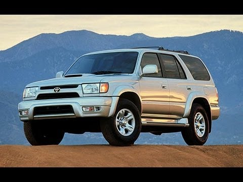 2001 Toyota 4Runner Start Up And Review 3.4 L V6