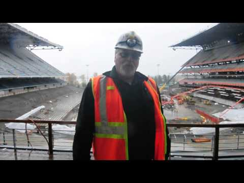 UW Stadium Construction, Painters Union Local 300 Greg Flatmo