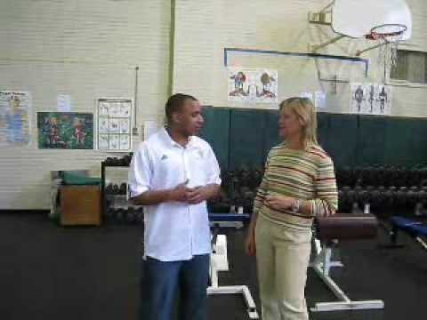 Exercise Equipment Donation to Washburn High School, Mpls MN