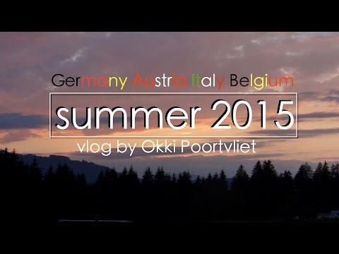 vlog Germany, Austria, Italy & Belgium- Okki Poortvliet