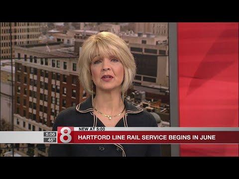 Hartford Line rail service to launch June 15