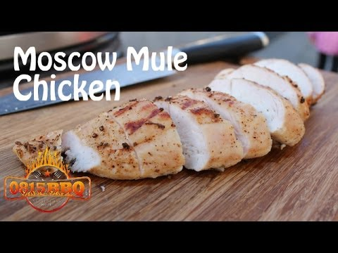 Moscow Mule Chicken - english Grill- and BBQ-recipe - 0815BBQ